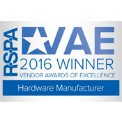 RSPA 2016 Winner Hardware Manufacturer