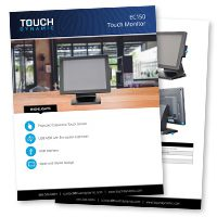 EC150 Touch Monitor Spec Sheet
