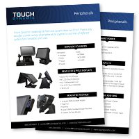 Peripherals Spec Sheet