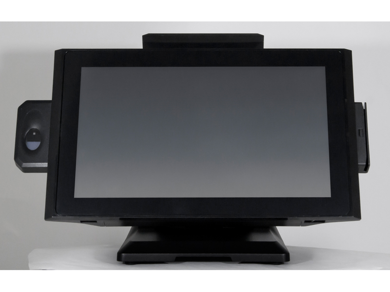 black all-in-one pos system